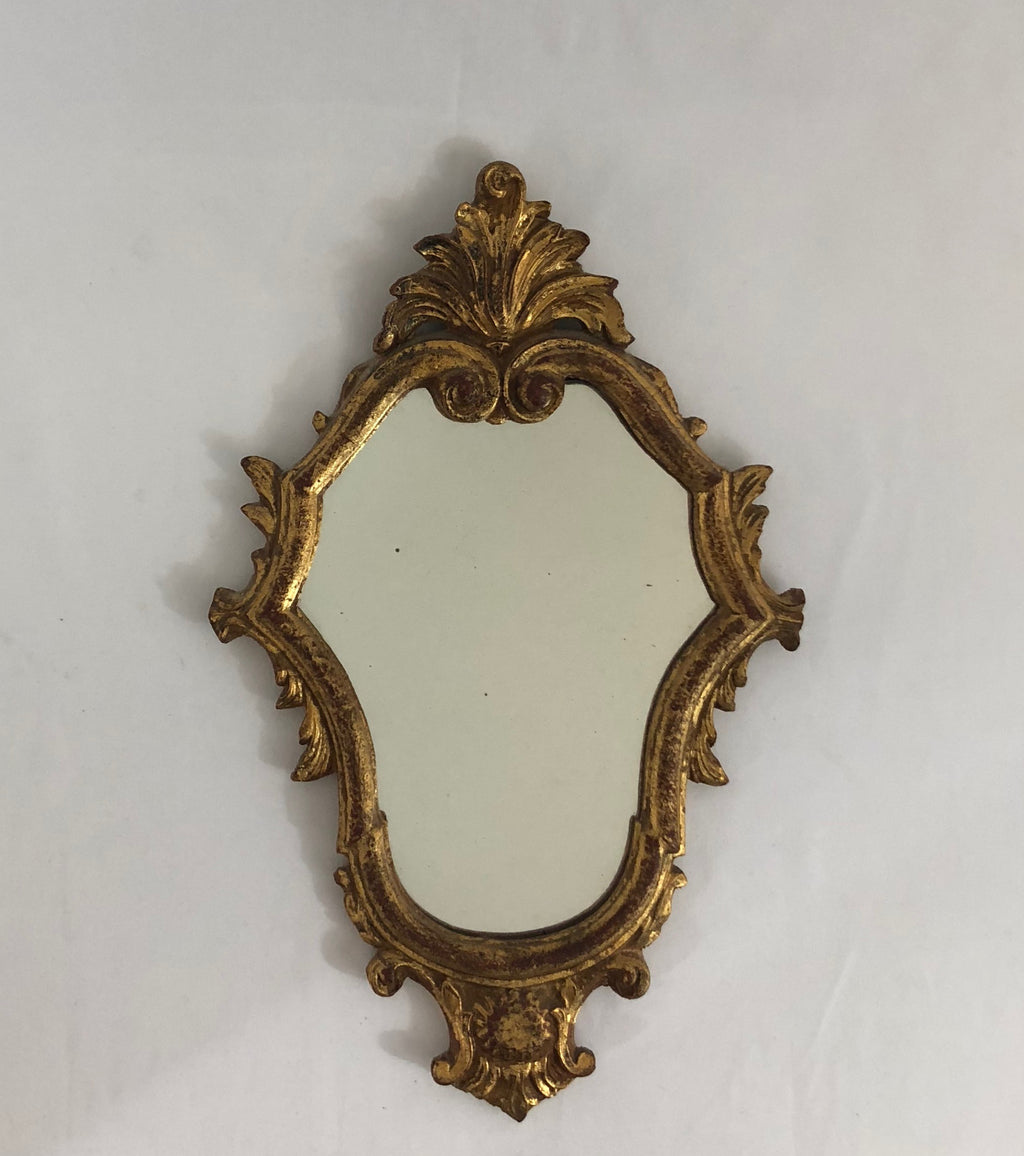 Italian Gold Gilt Mirror