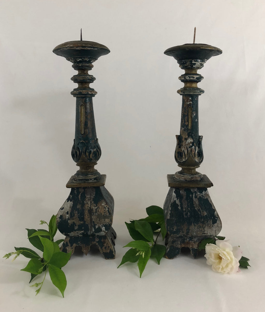 California Mission Alter Candlesticks