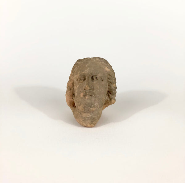 Antique Limestone Head of Christ