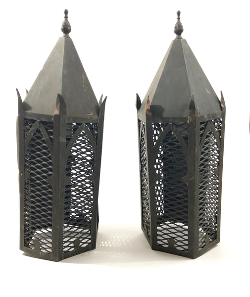 Set of Two Cathedral Sconces