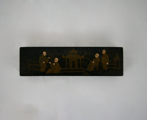 Napoleon III Rectangular Chinoiserie Box