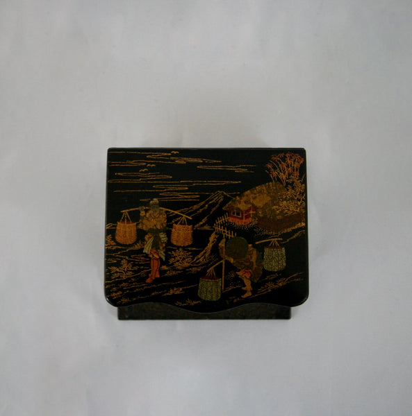 Napoleon III Chinoiserie Box With Match Striker