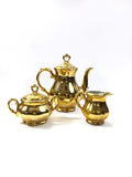 Bareuther Bavaria Gold Tea Set