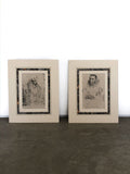 Set of two Anthony Van Dyck Prints