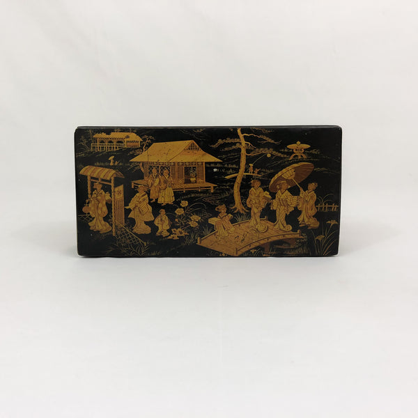 Large Antique Napoleon III Chinoiserie Box