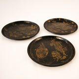 Set of Three Chinoiserie Trays