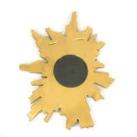 Antique Asymmetrical Sunburst Mirror