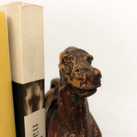 Wood Horse Bookends