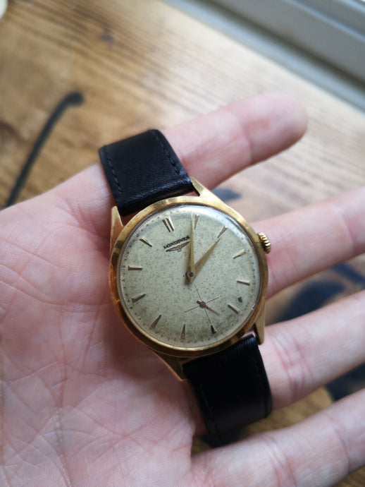 9ct Gold Longines
