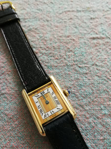 Ladies Cartier Tank 2007