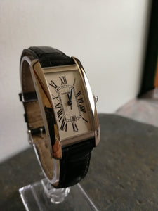 Cartier Tank Americaine 18kt White Gold