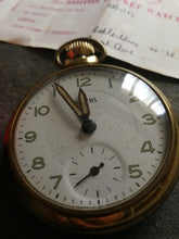 Smiths Pocket Watch Box and Papers