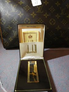 Gold Dunhill Lighter