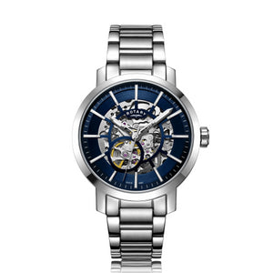 Rotary Gents Stainless Steel Greenwich Skeleton