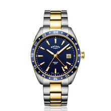 Rotary Gents Two Tone Gold PVD GMT Henley