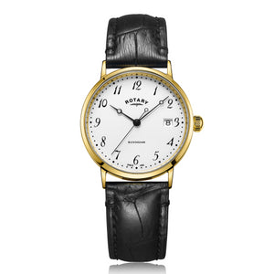 Rotary Buckingham Gents 9ct Gold Case Watch