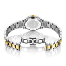Rotary Two Tone Gold Oxford Diamonds Ladies