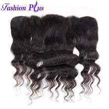 Load image into Gallery viewer, Fashion Plus - Loose Wave 100% Human Hair Brazilian Virgin 13x4 Lace Frontal Loose Wave Hair Frontals