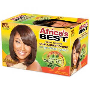 Africa's Best No-Lye Dual Conditioning Relaxer System Regular