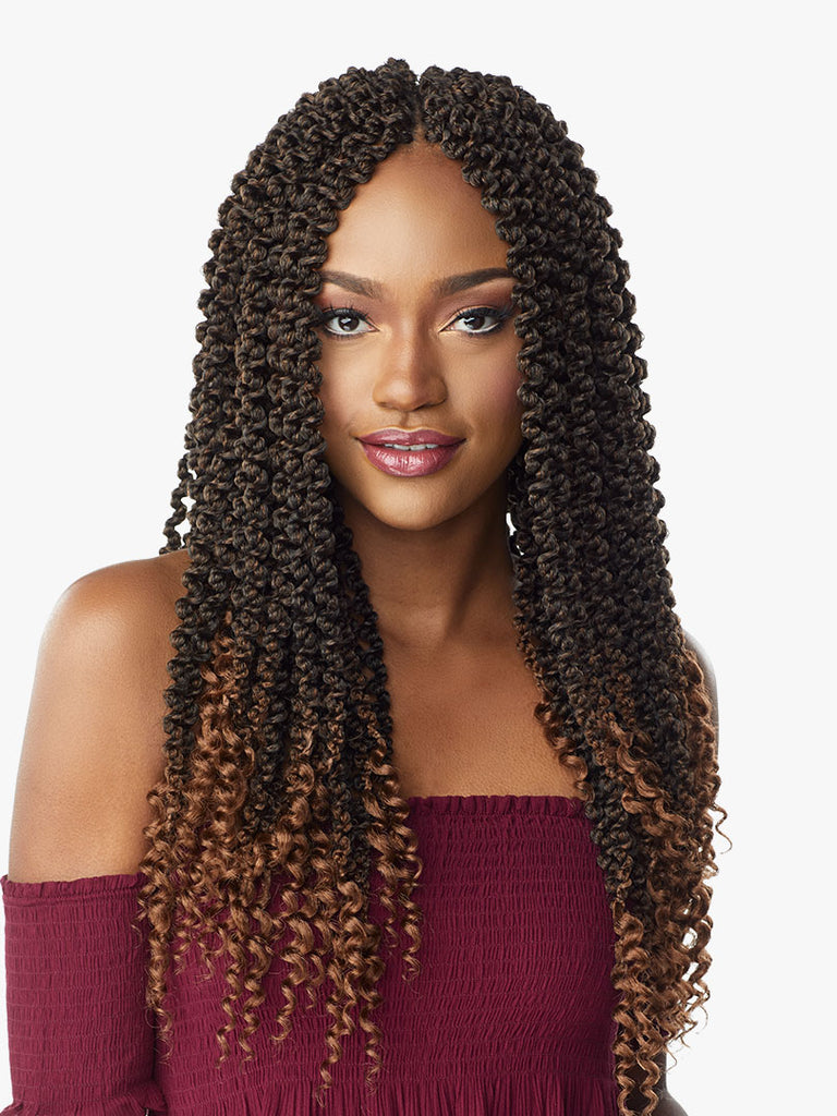 Sensationnel Crochet Braids Lulutress 3X 3D Passion Twist 18
