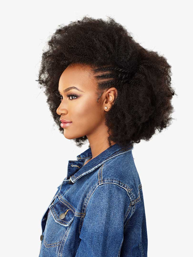 Sensationnel Curls Kinks & Co Textured Clip Ins  9PCS - 4C Clique