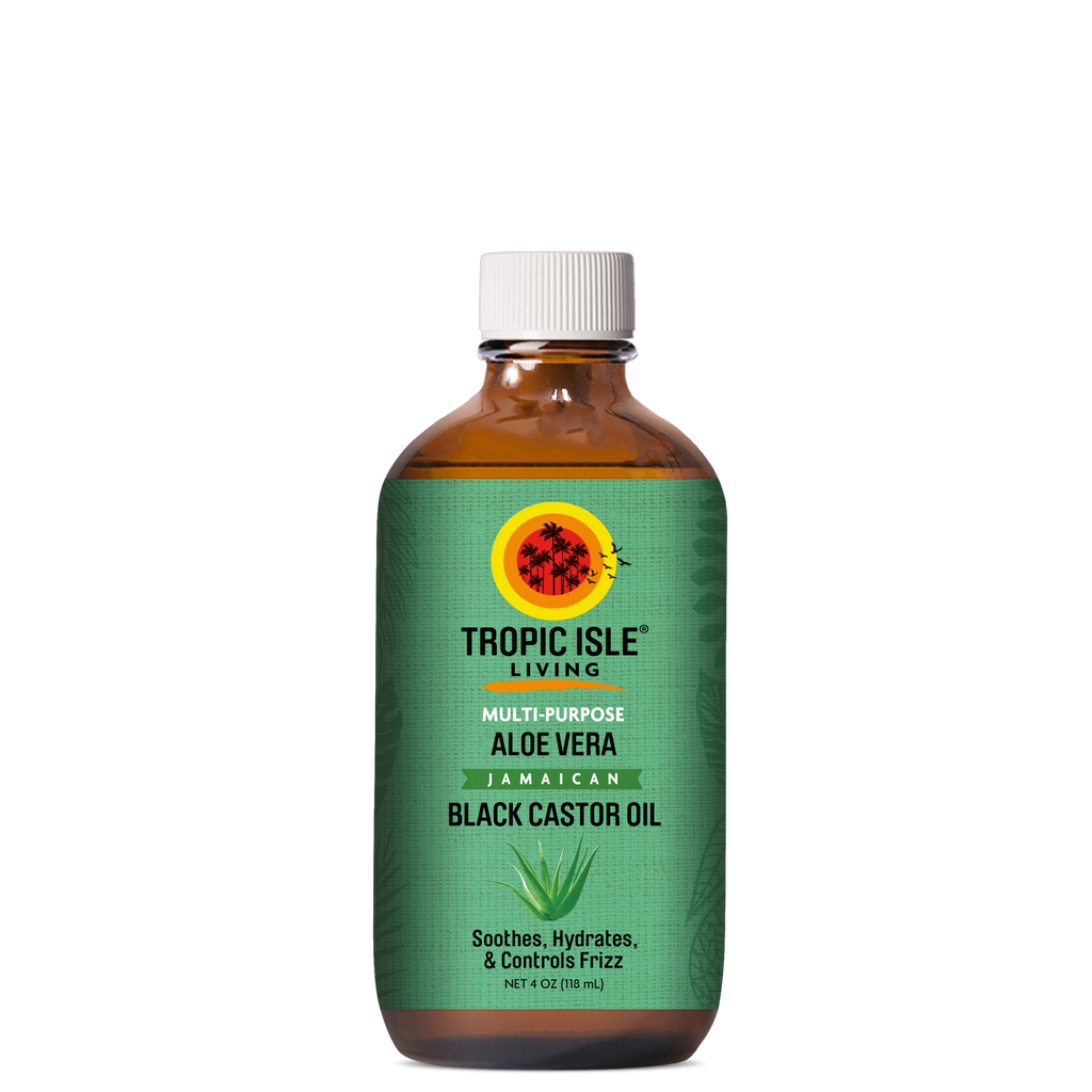 Tropic Isle Living Aloe Vera Jamaican Black Castor Oil 4oz