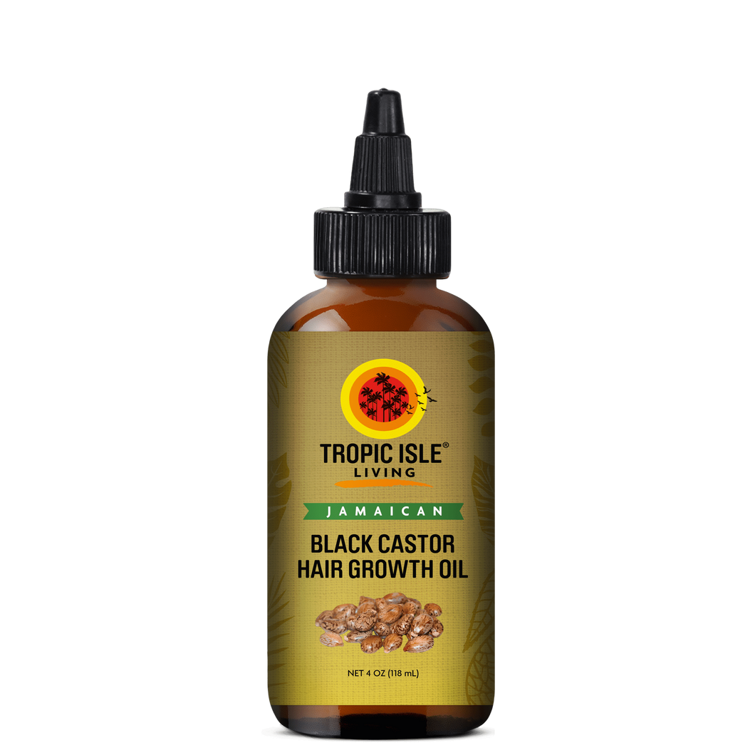 Tropic Isle Living Jamaican Black Castor Hair Growth Oil 4oz