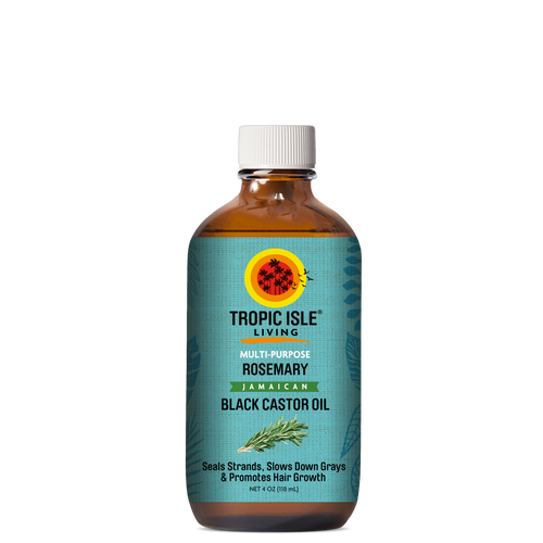 Tropic Isle Living Rosemary Jamaican Black Castor Oil 4oz
