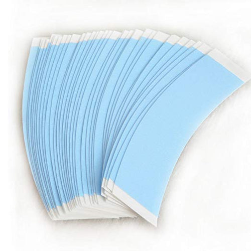 Tape Adhesive Glue Strips Wig Tape Double Sided Shape C Contour 36 Pieces Per Bag