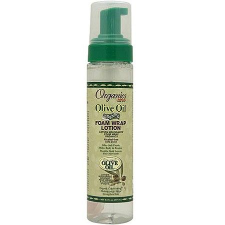 Africa's Best Originals Organics Olive Oil Foam Wrap Lotion 8.5 oz