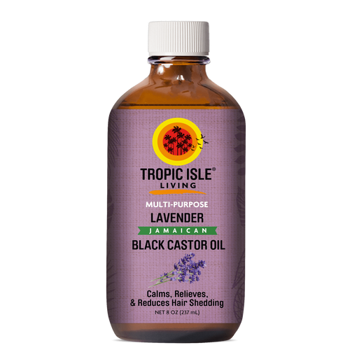 Tropic Isle Living Lavender Jamaican Black Castor Oil 8oz
