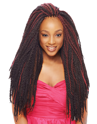 Janet Collection 2X MAMBO TANTALIZING TWIST BRAID 18″