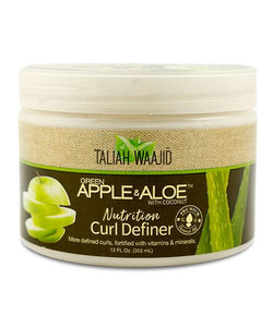 Taliah Waajid Green Apple & Aloe Curl Definer 12 oz