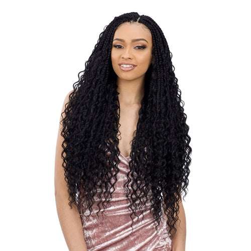 FreeTress Crochet Braids Boho Hippie Braid 22""