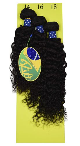 Rio - Bohemian 100% Human Hair Brazilian Virgin Weave 3PC Bundles Bohemian Hair Extensions