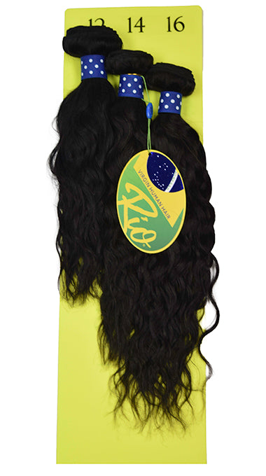 Rio - Egyptian Ocean 100% Human Hair Brazilian Virgin Weave 3PC Bundles Egyptian Ocean Hair Extensions