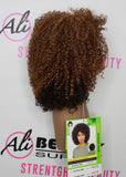 W the Wig Natura Humanl Hair Blend Wig (HH-AFRO JERRY)