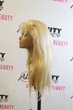 Fashion Plus - Brazilian Straight Full Lace 100% Human Hair Wig (613)