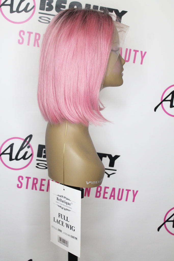 Bellatique - 360 Lace Front Wig GINA (1B/Hot Pink)