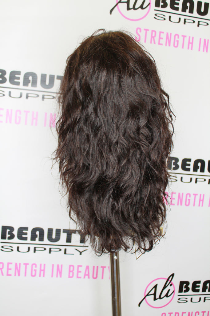 "EBIN - Brazilian Body Wave Wig Dress 18"" (8A)"