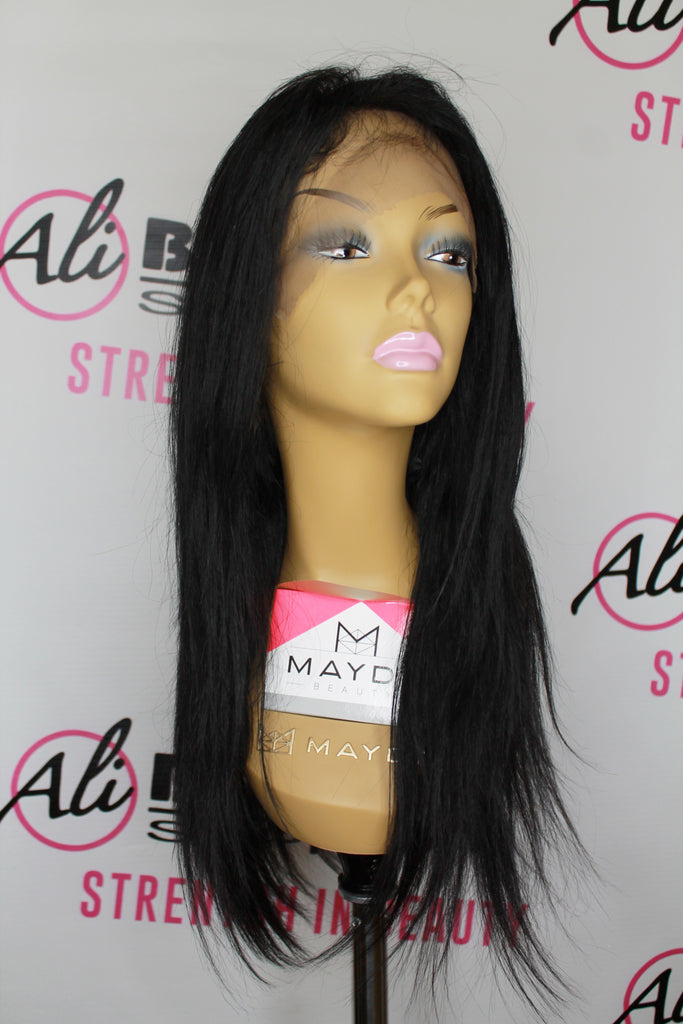 Black Pink - 360 Straight Lace Frontal Wig 18'' (HBL360)