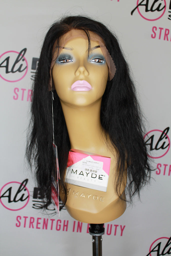 Mayde Beauty - Loose Deep Wet & Wavy Frontal Lace Wig