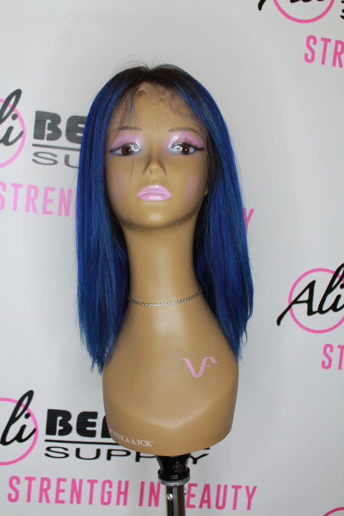 Rio - Full Lace Frontal Bob 12'' (Blue)