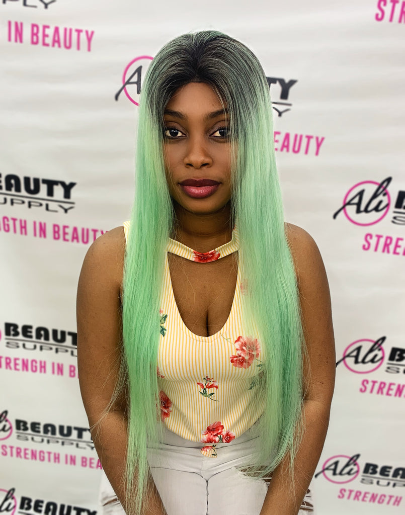 "Rio - Full Lace Frontal Straight 24"" (Mint)"