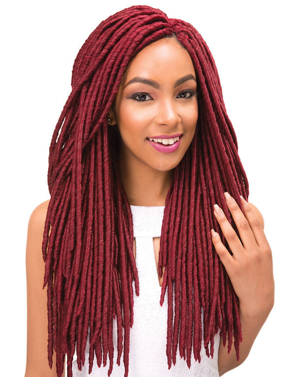 Janet Collection - 2X Mambo Faux Locs 18″