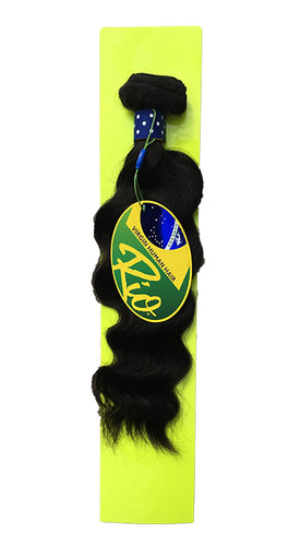 Rio - Malaysian Wave 100% Human Hair Brazilian Virgin Weave Single Bundle Malaysian Wave Hair Extensions