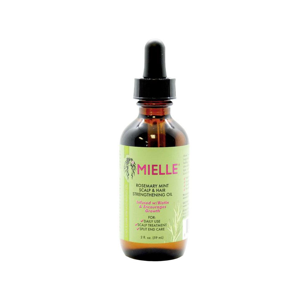 Mielle Rosemary Mint Scalp & Hair Strengthening Oil  2 fl oz