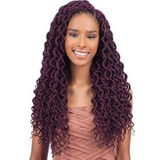 Freetress Crochet Braid Faux Loc Curly Lite 18""