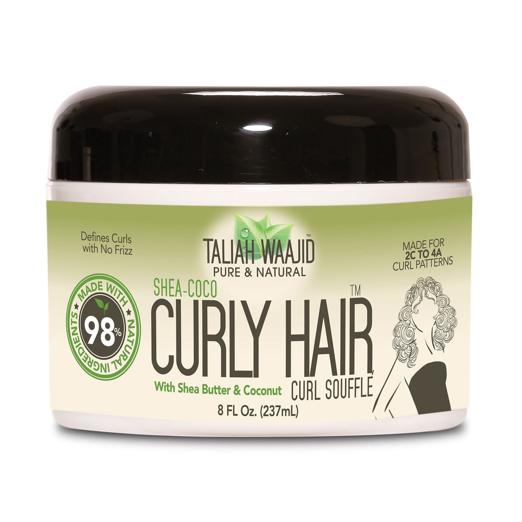 Taliah Waajid  Shea Coco Curly Hair Souffle For 3B-4B Hair 8oz