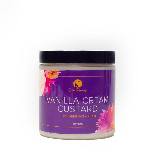 Curls Dynasty Vanilla Cream Custard 8oz